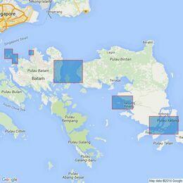3937 Ports in Kepulauan Riau Admiralty Chart