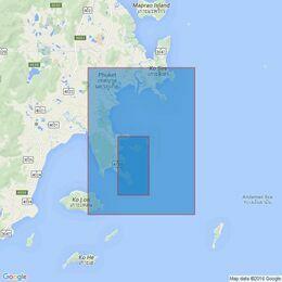 3941 Mu Ko Similan to Ko Lanta Yai Admiralty Chart