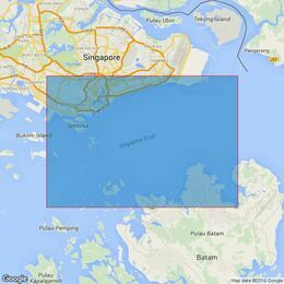 4041 Pulau Sebarok to Changi Admiralty Chart