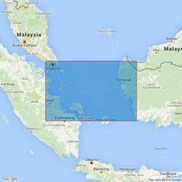 1312 Singapore Strait to Selat Karimata Admiralty Chart
