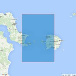 2137 Selat Gelasa Admiralty Chart