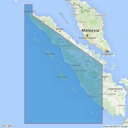 2760 Sumatera West Coast Pulau We to Pulau Enggano Admiralty Chart