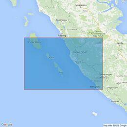 2780 Pulau Nyamuk to Bengkulu Admiralty Chart