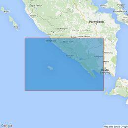 2781 Bengkulu to Selat Sunda Admiralty Chart