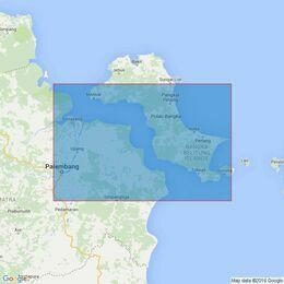 3471 Selat Bangka and Approaches to Pangkalbalam Admiralty Chart
