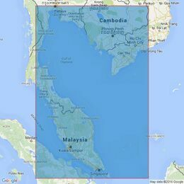 2414 Singapore to Song Sai Gon and the Gulf of Thailand Admiralty Chart