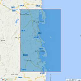 3874 Baie De Qui Nhon to Baie De Xuan Day Admiralty Chart
