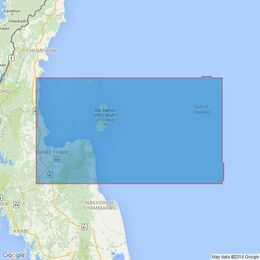3963 Laem Kho Kwang to Laem Riu including Offshore Gasfields Admiralty Chart