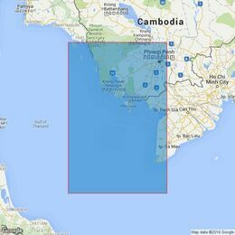 3985 Ko Kut to Hon Khoai Admiralty Chart