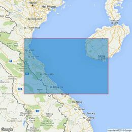 3989 Gulf of Tongking Admiralty Chart (Southern sheet)