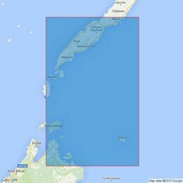287 Eastern Approaches to Balabac Strait Admiralty Chart
