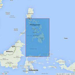 943 Molucca Sea to Manila Bay Admiralty Chart