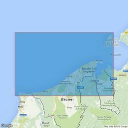 2109 Tanjung Baram to Labuan Admiralty Chart