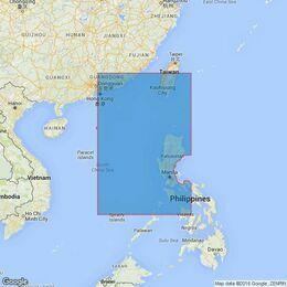 3489 Manila to Hong Kong Admiralty Chart