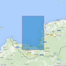 3835 Tanjung Sipang to Tanjung Sirik Admiralty Chart