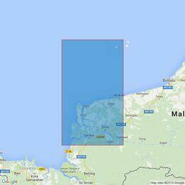 3836 Kuala Rajang to Kuala Mukah Admiralty Chart