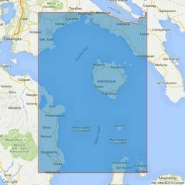 4489 Romblon Passage to Tayabas Bay Including Tablas Strait Admiralty Chart