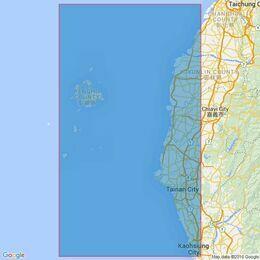 2409 Kao-Hsiung Kang to Fang-Yuan Po-Ti including P'eng-Hu Ch'un-Tao  Admiralty Chart