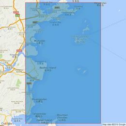 2419 Outer Approaches to Songxia Gang and Minjiang Kou Admiralty Chart