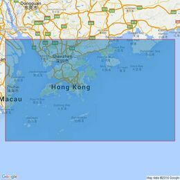 3026 Outer Approaches to Hong Kong Admiralty Chart