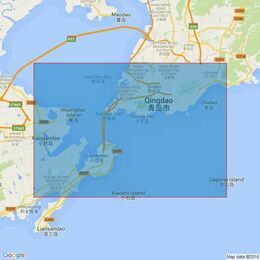 876 Qingdao Gang and Approaches Admiralty Chart