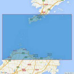 1255 Chengshan Jiao to Laotieshan Xijiao Admiralty Chart