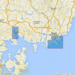 1259 Pusan and Masan Admiralty Chart