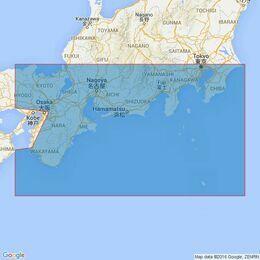 996 Shiono Misaki to Inubo Saki Admiralty Chart