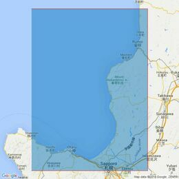 1808 Approaches to Otaru Ko and Rumoi Ko Admiralty Chart