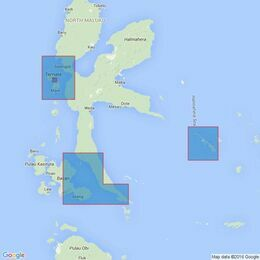 2786 Plans on Halmahera and Adjacent Islands Admiralty Chart
