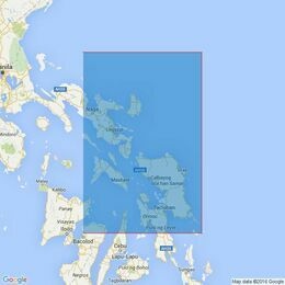 3808 San Miguel Bay to Leyte Gulf Admiralty Chart