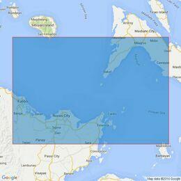 4485 Sibuyan and Visayuan Sea Sibuyan to Bantayan Island Admiralty Chart