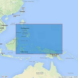 4507 Philippine Islands to Bismark Archipelago Admiralty Chart