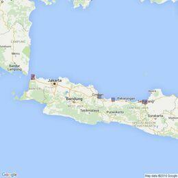 918 Ports on the North Coast of Jawa Admiralty Chart
