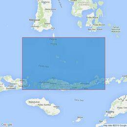 2910 Indonesia, Pulau Jailamu to Palau Serbete Admiralty Chart