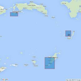 2791 Plans in the Banda Sea Admiralty Chart