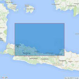 2797 Indonesia. Jakarta to Semarang Admiralty Chart