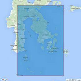 3616 Teluk Tolo to Selat Salayar Admiralty Chart