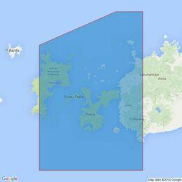 3756 Linta and Molo Straits Admiralty Chart