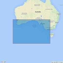 4709 Australia- South Coast Admiralty Chart