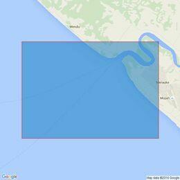 3528 Selat Muli to Unji Point Admiralty Chart