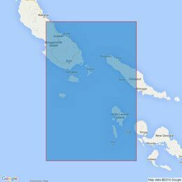 3994 Bougainville Island to Ghizo Island Admiralty Chart