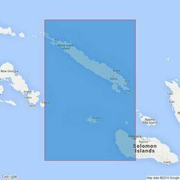 3996 Santa Isabel Island to Guadalcanal Island Admiralty Chart