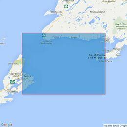 4763 Sydney to Saint-Pierre Admiralty Chart