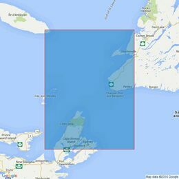 4764 Cabot Strait and Approaches Scatarie Island to Anticosti Island Admiralty Chart