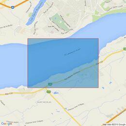4787 Quebec a/to Donnacona Admiralty Chart