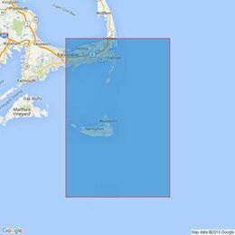 2489 Nantucket Sound Eastern Part and Approaches Admiralty Chart