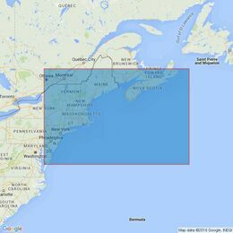 2670 Cape Breton to Delaware Bay Admiralty Chart
