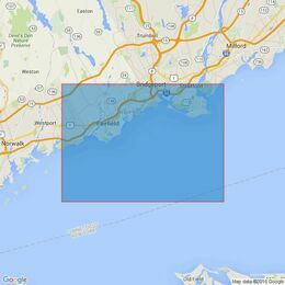 2726 Long Island Sound - Bridgeport and Approaches Admiralty Chart