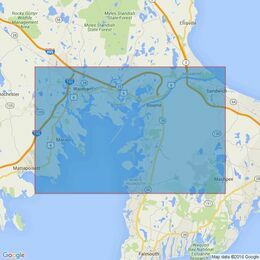 2891 Cape Cod Canal and Approaches Admiralty Chart